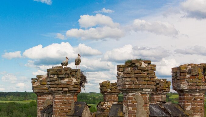 ФОТО. Две стороны одного замка: Впечатляющее Одзиенское поместье