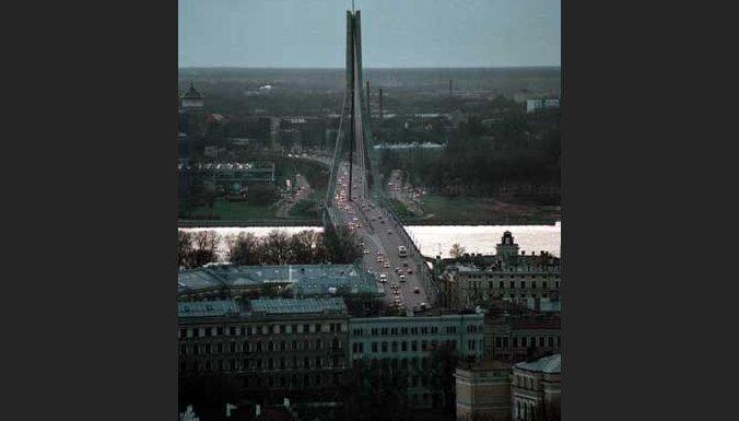 Рига, Вантовый мост