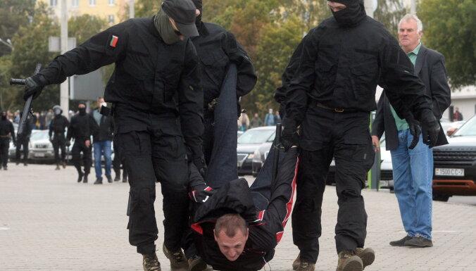 В Минске задерживают участников протестной акции, в Гомеле применили слезоточивый газ