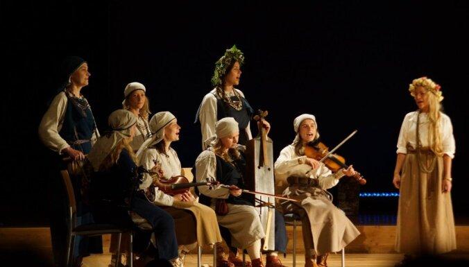 Izdots folkloras kopas 'Lāns' albums 'Dzērves un dzērvenes'
