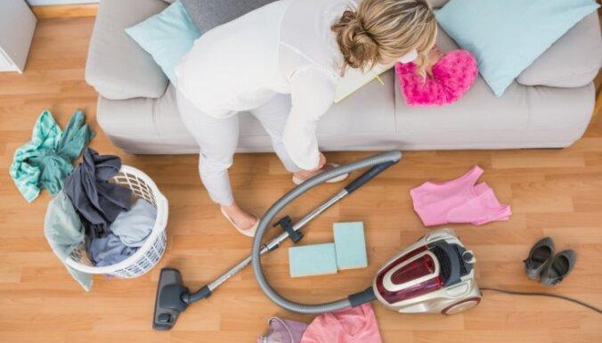 Psiholoģe un četru bērnu tēvs sniedz padomus, kā mājās neļauties ilgstošai nekārtībai