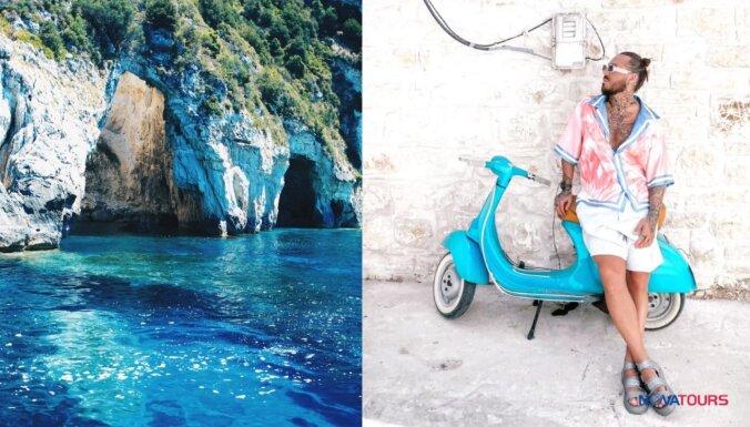 Kašers & Jānis kopā ar 'Novatours' apceļo Korfu salu