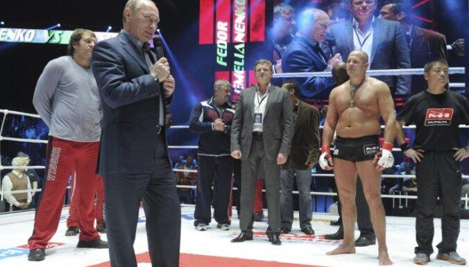 Путина на ринге освистали в прямом эфире