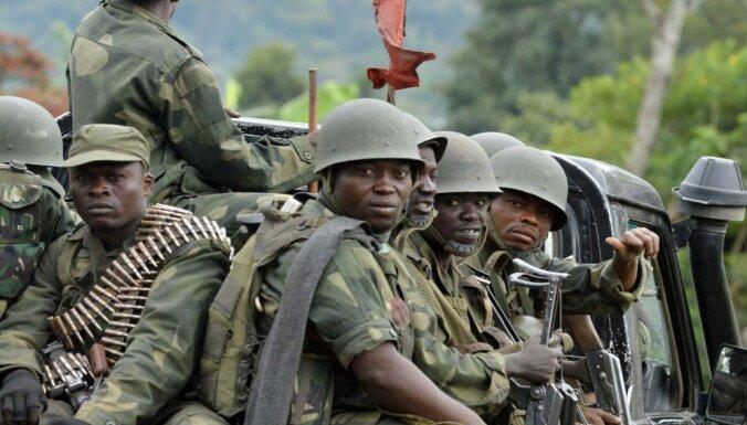 Kongo DR sāk uzbrukumu Ruandas hutu nemierniekiem
