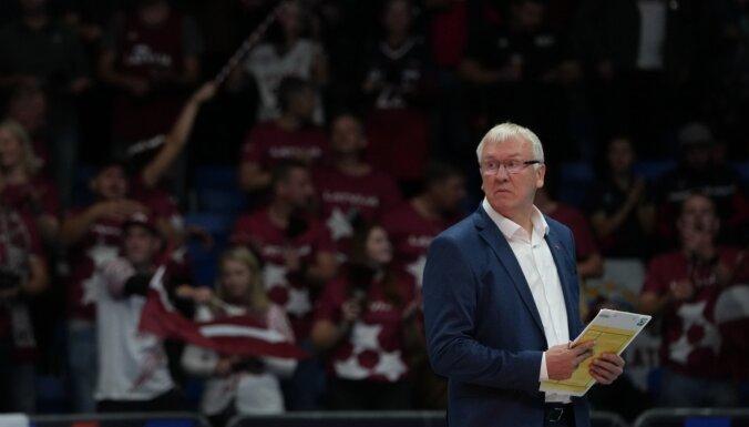 Latvijas Volejbola federācija meklē izlases trenera Kēla aizstājēju