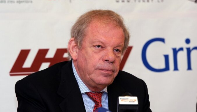 Липман будет счастлив, если Латвия останется на ЧМ-2014 в элите