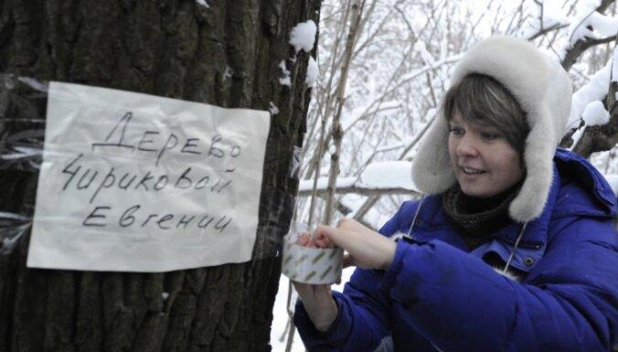 Krievijā pazīstamai vides aktīvistei draud atņemt bērnus