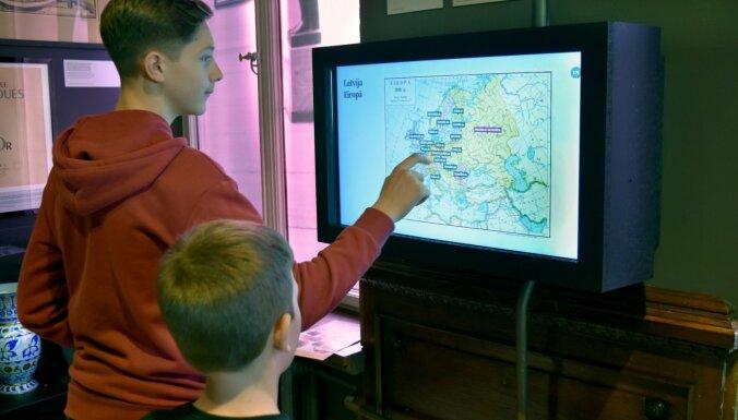 Vēstures muzejs aicina uz interaktīvu nodarbību 'Orientēšanās laikā, telpā un vēsturē'