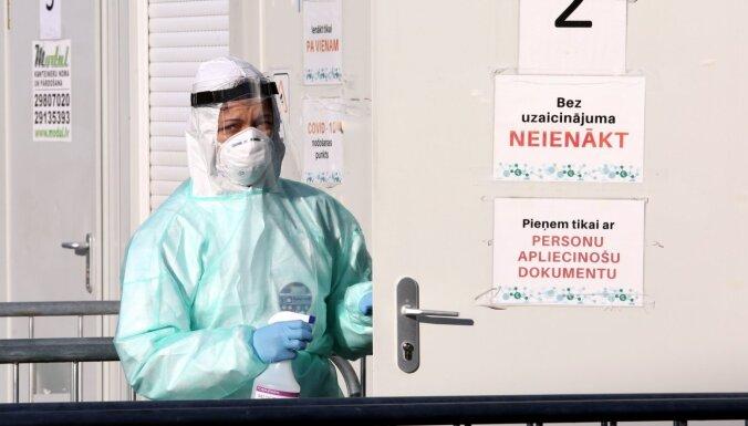 Latvijā Covid-19 saslimšana apstiprināta 92 cilvēkiem; divi cilvēki miruši