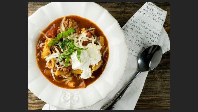 Lazanjas zupa