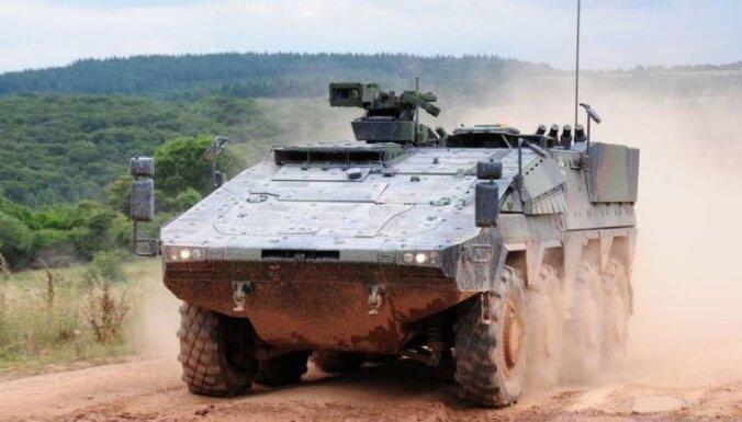 В Литву будут доставлены первые БМП Boxer: их переименуют в Vilkas