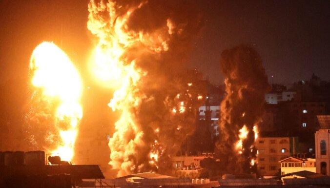 Gazā aizvadīta pēdējās nedēļas asiņainākā diena