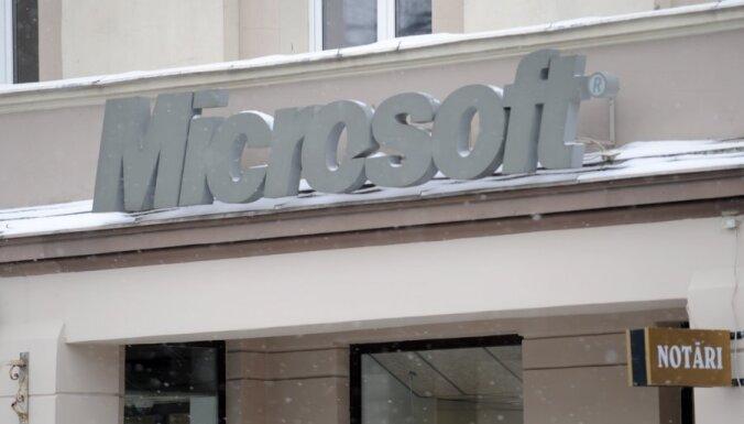 'Microsoft': valsts par licencēm ir parādā 1,5 miljonus latu