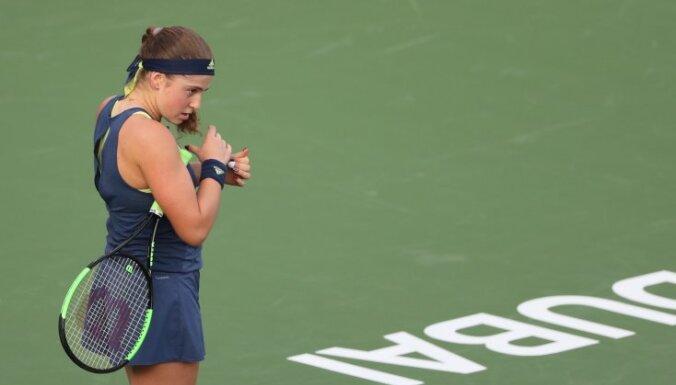 Ostapenko un Sevastova saglabā savas rekordaugstās pozīcijas WTA rangā