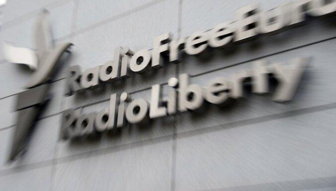 Krievija soda 'Radio Brīvība' par 'ārvalstu aģentu' likuma pārkāpumiem