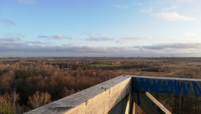 Visa Rīga pie kājām: Bumbu kalniņa skatu tornis