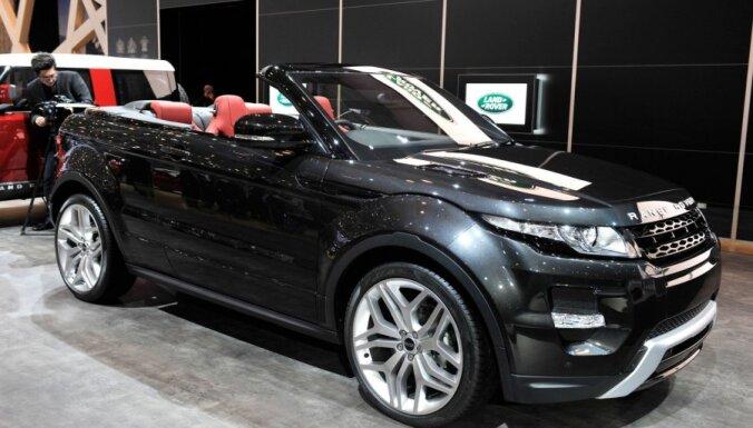 За неделю угнали второй эксклюзивный Range Rover Evoque