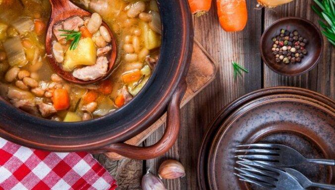 Быстрый суп-пюре с копченой курицей
