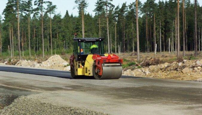 Sāk Valmieras šosejas remontu no Strenčiem Valkas virzienā