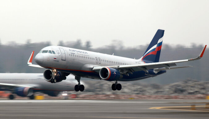 ASV 113 'Aeroflot' darbiniekiem-kontrabandistiem anulē vīzas