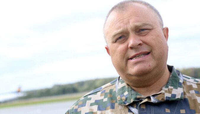 Mūžībā devies Gaisa spēku komandieris pulkvedis Aivars Mežors