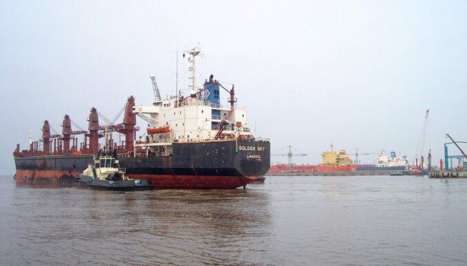Ventspils ostas termināļos 2018. gadā kravu apgrozījums palielinājies par 1%
