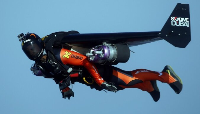 Французский трюкач Винсент Реффе погиб во время полёта на турбокрыльях