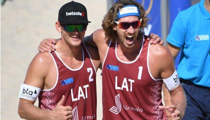 Samoilovs un Šmēdiņš turpinās spēlēt kopā un mērķēs uz Parīzes olimpiskajām spēlēm