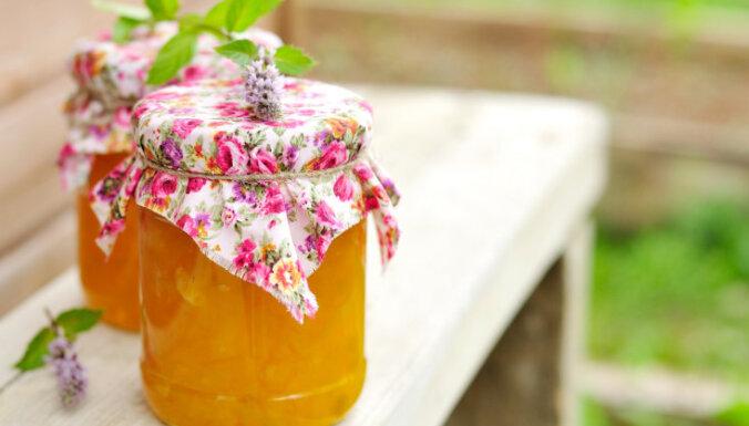 Ķirbju - apelsīnu ievārījums