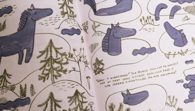 Radīts latviešu bērnu literatūras autoru un ilustratoru katalogs 'Zirgs'