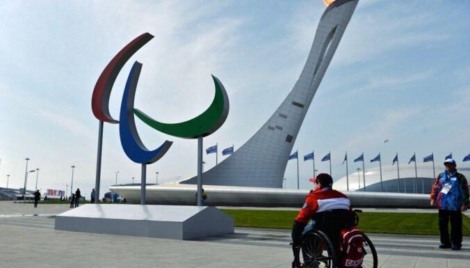 Starptautiskā paralimpiskā komiteja atceļ Krievijas diskvalifikāciju
