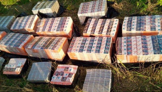 """Полиция за год """"накрыла"""" шесть подпольных АЗС и изъяла десятки миллионов сигарет"""