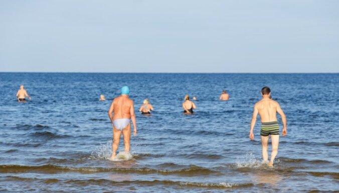 На каких морских пляжах Латвии самая теплая вода