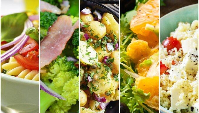 viegli salāti piknikam – receptes
