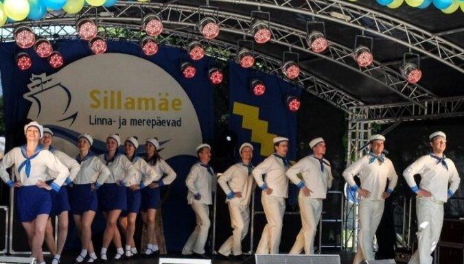 Foto: Jūras un pilsētas svētku noskaņas Igaunijas pilsētiņā Sillamē