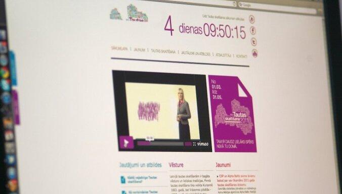 Tautas skaitītāji aicina līdz 10.martam 'saskaitīties' internetā