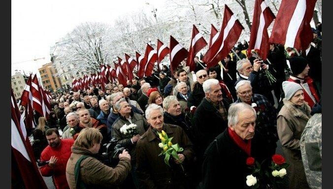 Saeima neatbalsta VL-TB/LNNK rosinājumu 16.martā pieminēt Latviešu nacionālo karavīru dienu