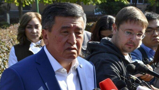Президент Киргизии заявил о попытке захвата власти и предложил отменить итоги выборов