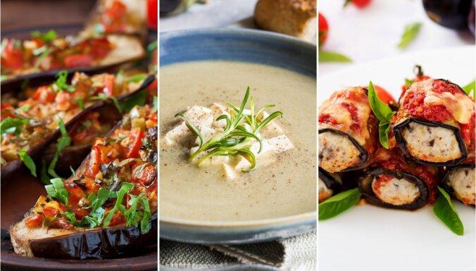 Baklažāna dažādie ietērpi jeb kā pagatavot daudzveidīgas un gardas vakariņas