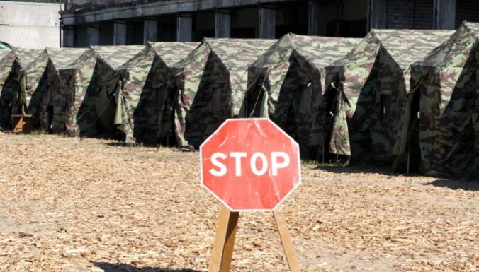 Оборона Балтии: шведы считают Латвию слабым звеном