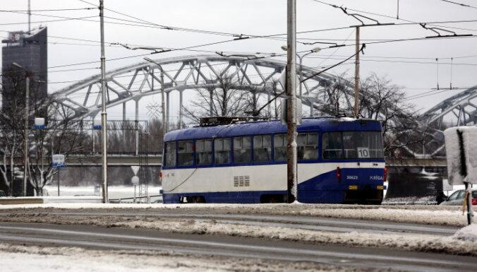 Рижские трамваи №10 возвращаются на линию