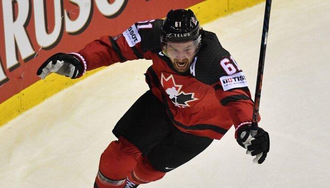 Kanādietis Stouns atzīts par pasaules čempionāta vērtīgāko spēlētāju