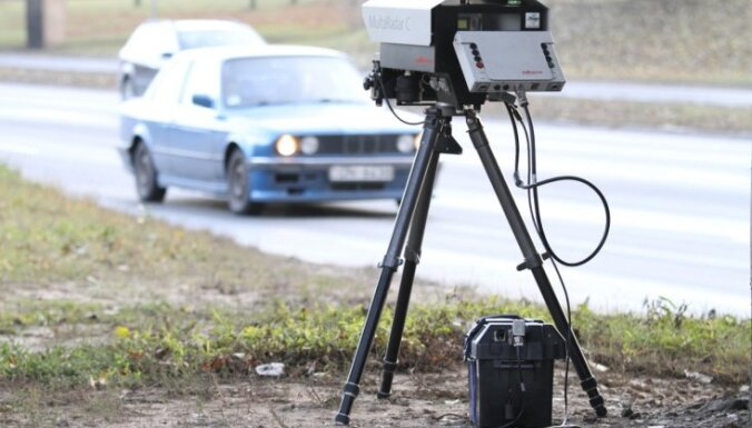 Fotoradariem nesokas arī ar budžeta papildināšanu - septiņos mēnešos vien 12% no gada plāna