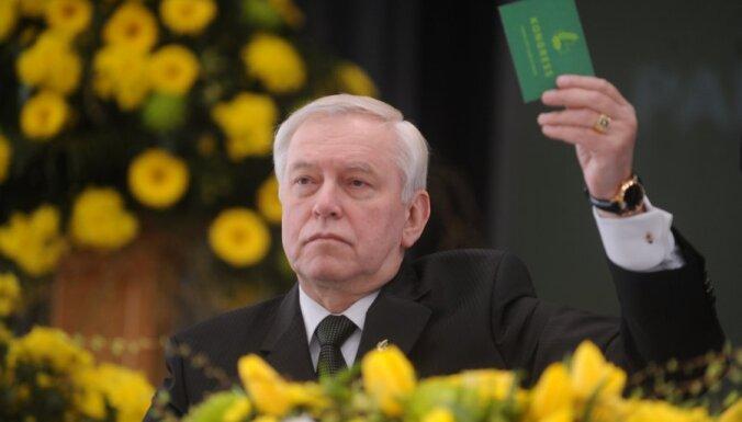 Бригманис: ни один из названных кандидатов не станет президентом Латвии