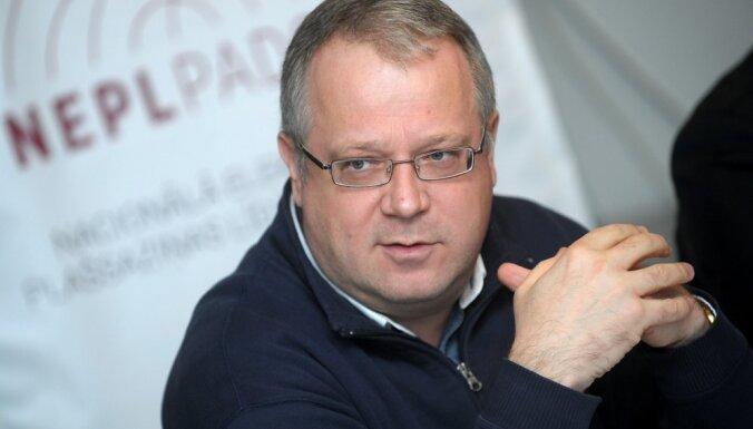 Димантс: закрытие TV5 доказывает, что необходимо создать общественное СМИ на русском языке