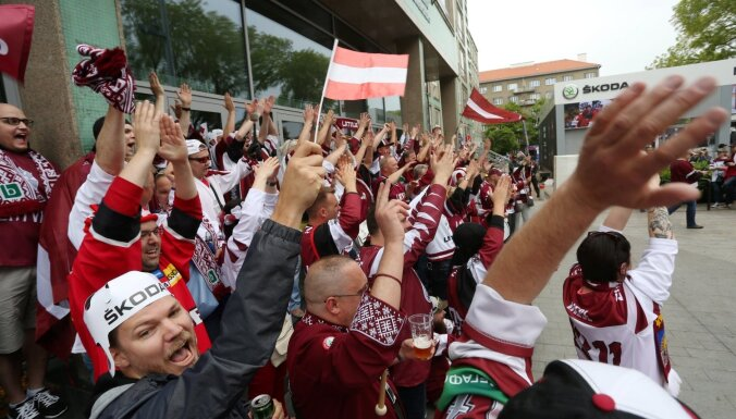 Bratislavas krogi Latvijas izlases fanu pieplūdumam gatavojušies pāris mēnešus iepriekš