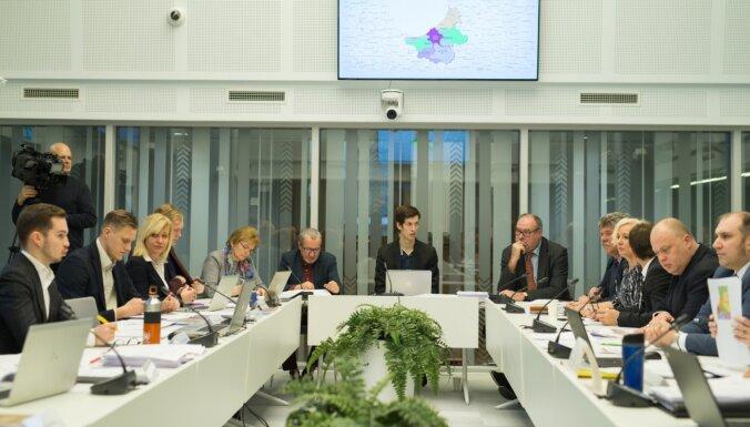 Saeimas komisija pieņem pirmos lēmumus par novadu apvienošanu