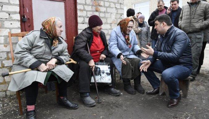 Ukrainas premjera tulku aiztur par spiegošanu Krievijas labā