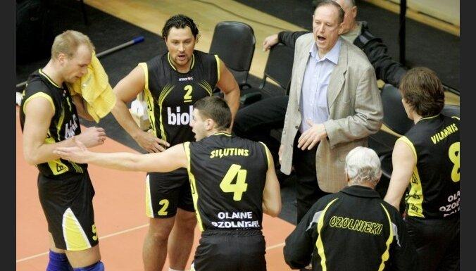 У Латвии новый чемпион по волейболу