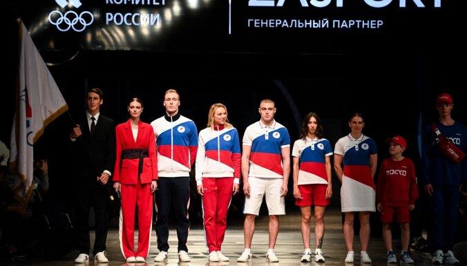 """""""Средний палец всему миру"""": Запад возмущен формой российских олимпийцев"""